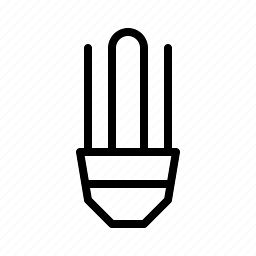 bulb, devices, electronics, energy, products, saving, technology icon