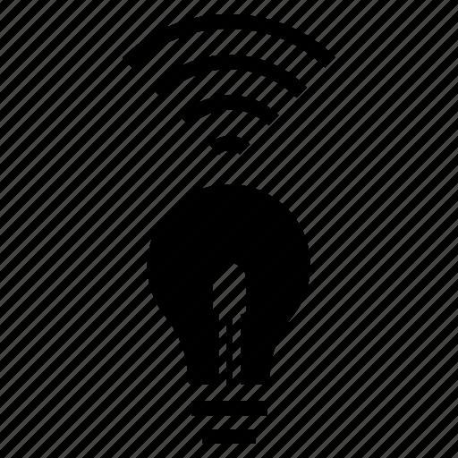 Led, gadget, lamp, lighting, home, electronics, smart icon