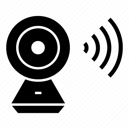 Gadget, wireless, camera, home, electronics, consumer, smart icon
