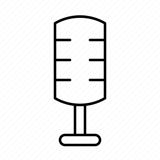 devices, electric, electronic, equipment, hardware, microphone, stand icon