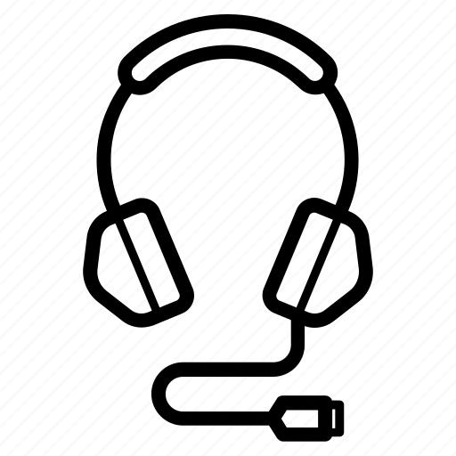 acessory, dj, gadget, gamer, gaming, headphones, playlist icon