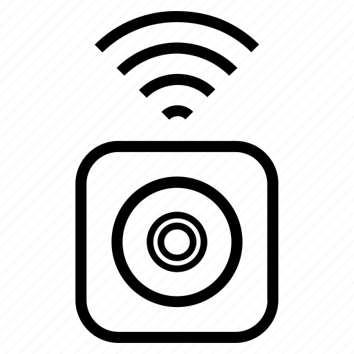 camera, home, office, security, smart, wifi, wireless icon