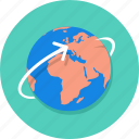 earth, internet, travel, world, worldwide icon