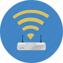 broadband, internet, signal, technology, wifi, wireless icon