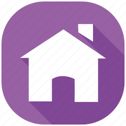 address, home, hour, internet, message, social media, social network icon