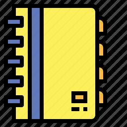 address, agenda, book, bookmark, business, communications, notebook icon