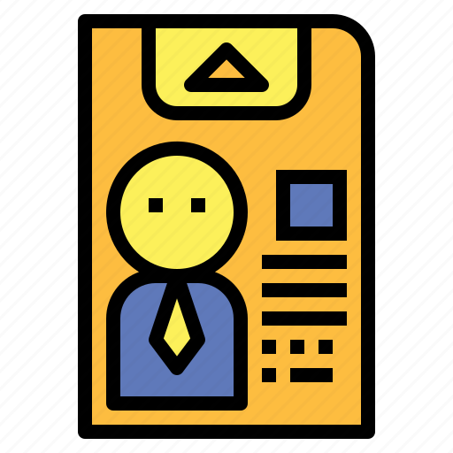 business, communications, id, identification, identity, pass icon