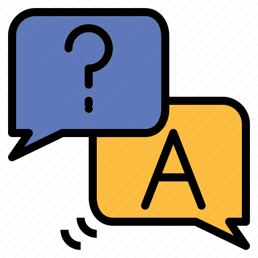 answer, communications, faq, interface, message, question, ui icon