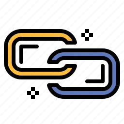 and, chain, connection, link, linked, multimedia, tools icon