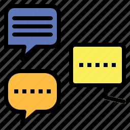 bubble, chat, communication, conversation, multimedia, speech icon