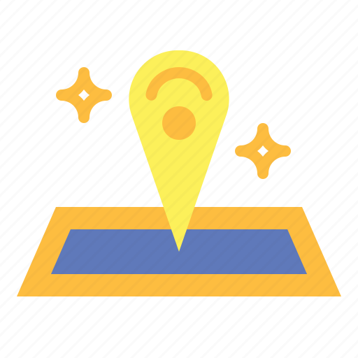 map, pin, placeholder, point icon