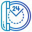 communications, customer, help, hours, info, information, telephone icon