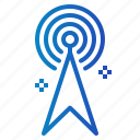 broadcast, broadcasting, communication, radio, technology icon