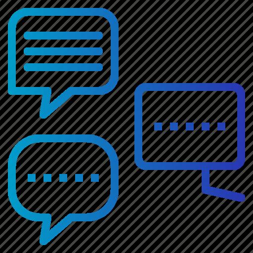 balloon, bubble, chat, communication, multimedia, speech icon