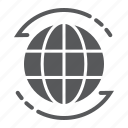 business, earth, globe, logo, planet, world, worldwide icon