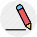 edit, pen, pencil, write, writing icon