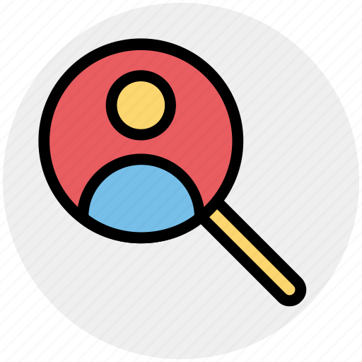 business, human, magnifier glass, man, search, searching man, user icon