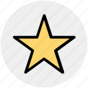 bookmark, favorite, like, night, star icon