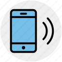 hotspot, mobile, phone, signal, technology, wifi signal icon