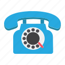 antique, call, communication, contact, phone, telephone, vintage icon