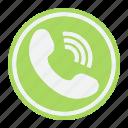 call, communication, contact, hotline, phone, telephone, us icon