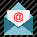 email, envelope, internet, letter, mail, message, send icon