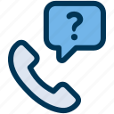 call, customer, support icon