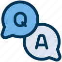 answer, faq, question icon