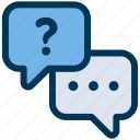 chat, question, support icon