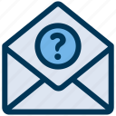 email, mail, support icon