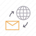 email, global, message, receive, send