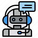 robot, chat, live, support, connection, contact