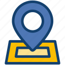 contact, location, map, marker, navigation, pin icon