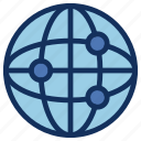 communication, connection, contact, earth, global, globe, network icon
