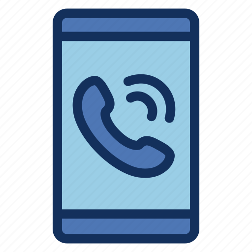 call, calling, communication, contact, service, smartphone, support icon