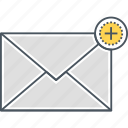 mail, new email, new mail icon