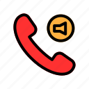 call, contact, mute, mute call, phone icon