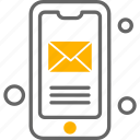 mobile, phone, message, mail