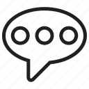 chat, comment, speech bubble, message, mail, bubble, conversation