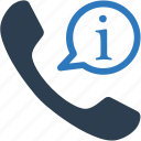 bubble, chat, communication, customer support, phone icon
