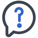 ask, customer service, inquiry, question, support icon
