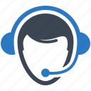 call center, customer support, headphones, helpline icon