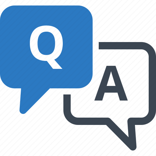 Answer, faq, question icon - Download on Iconfinder