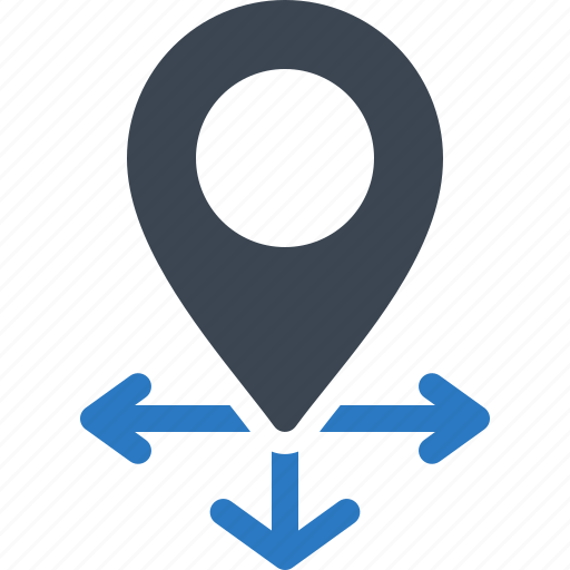 address, location, map pin icon