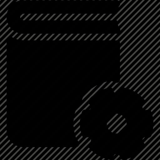 book, configuration, content, preferences, settings icon