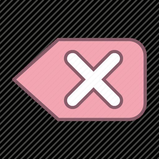 backspace, content, document, seo, text, web icon