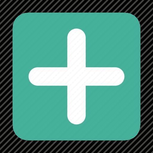 add, box, content, create, new, plus icon