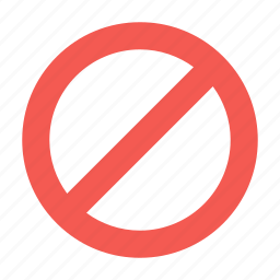 block, content, control, sign, stop icon
