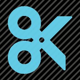 content, cut, design, scissor, tool icon