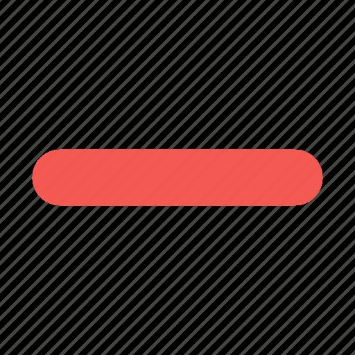 cancel, close, content, delete, minus, remove, trash icon